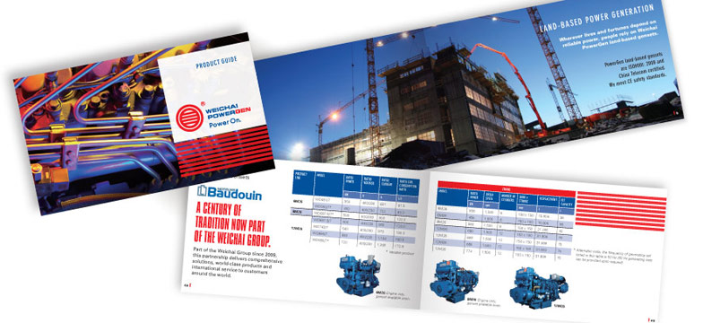 Weichai Powergen Pocket Catalog